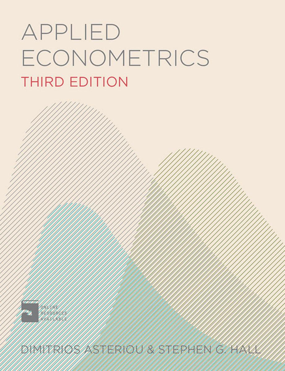 Applied Econometrics statistics and econometrics