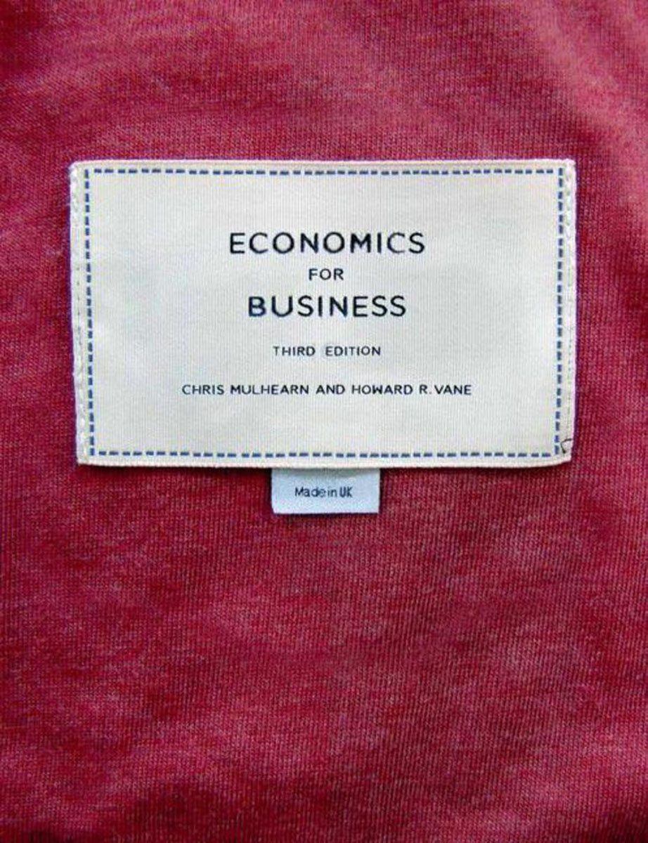 Economics for Business handbook of international economics 3