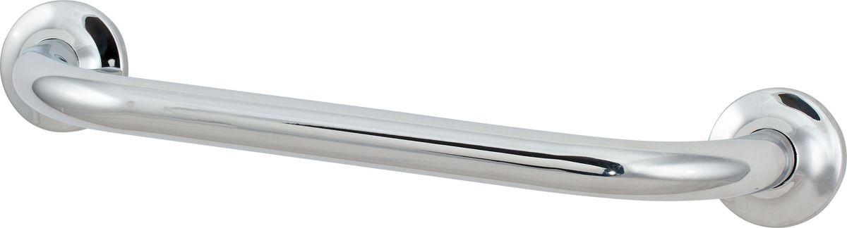 Поручень для ванной Del Mare, прямой, цвет: серебристый, 36 см3368В14Поручень для ванной Del Mare - универсальное средство опоры. Поручень убережет от скольжения и падения на скользком полу.