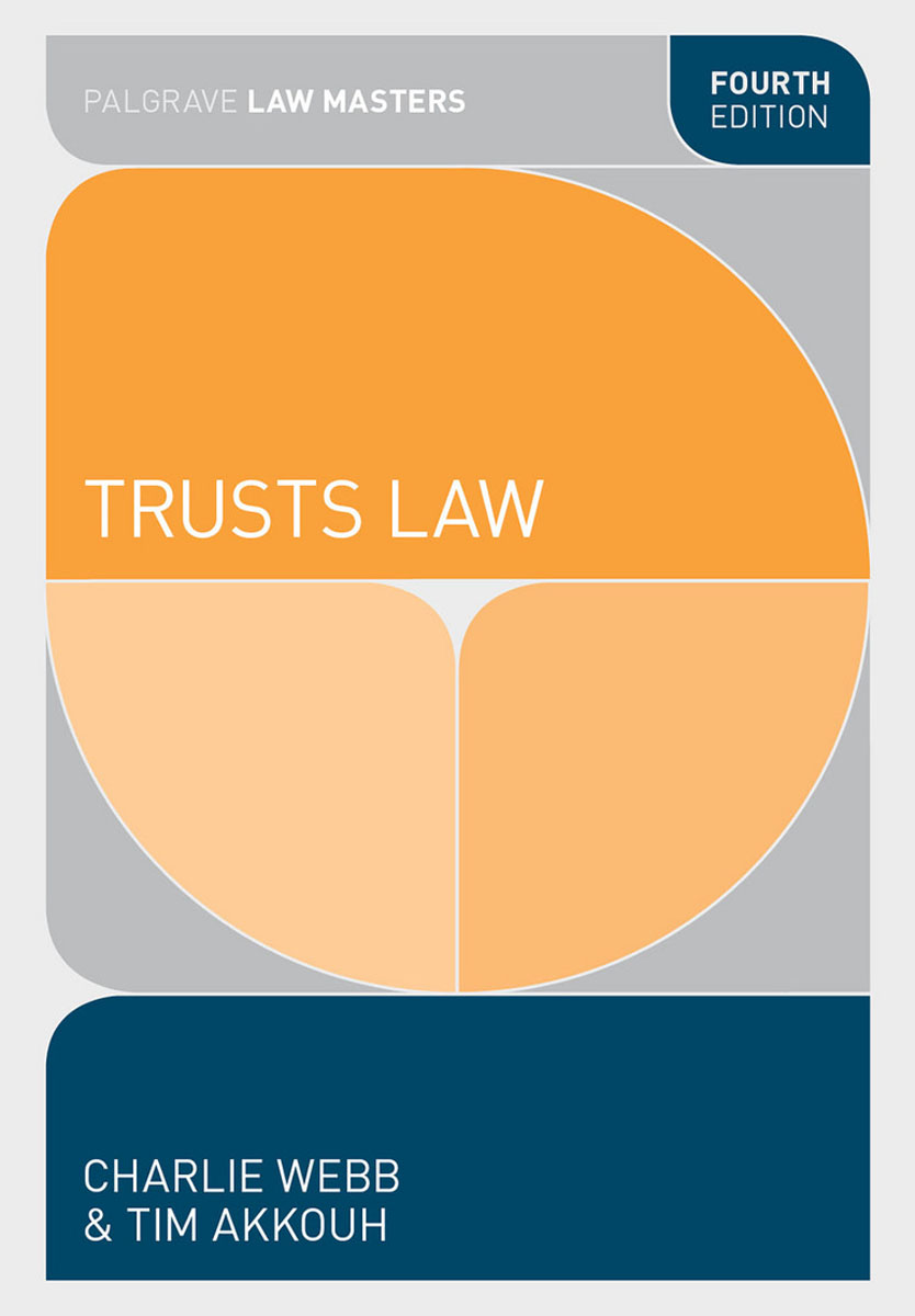 Trusts Law jonathan harris the hague trusts convention