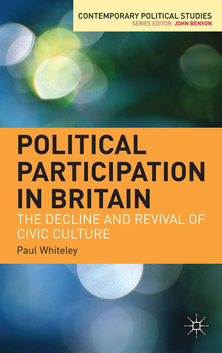 Political Participation in Britain political participation in britain