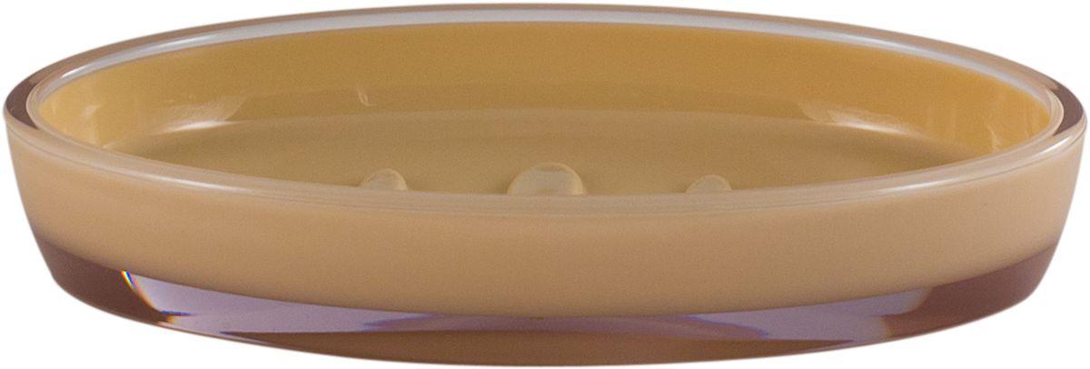 Мыльница Рондо поможет внести свежую нотку в продуманный интерьер ванной комнаты. Ребристое дно препятствует выскальзыванию и размоканию бруска мыла, а благодаря компактным размерам и овальной форме аксессуар легко размещается на стеклянной полке, бортике ванны или уголке раковины. Влагостойкое покрытие обеспечивает надежную защиту от повышенной влажности и воздействия высоких температур, продлевая срок службы изделия.