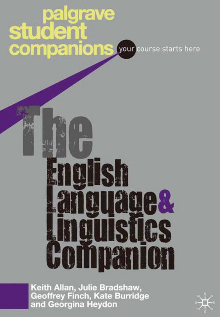 The English Language and Linguistics Companion джемпер nicclub