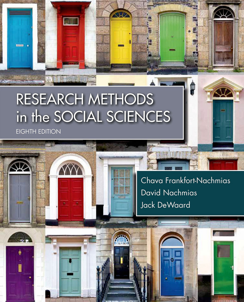 Research Methods in the Social Sciences the history of the social sciences since 1945