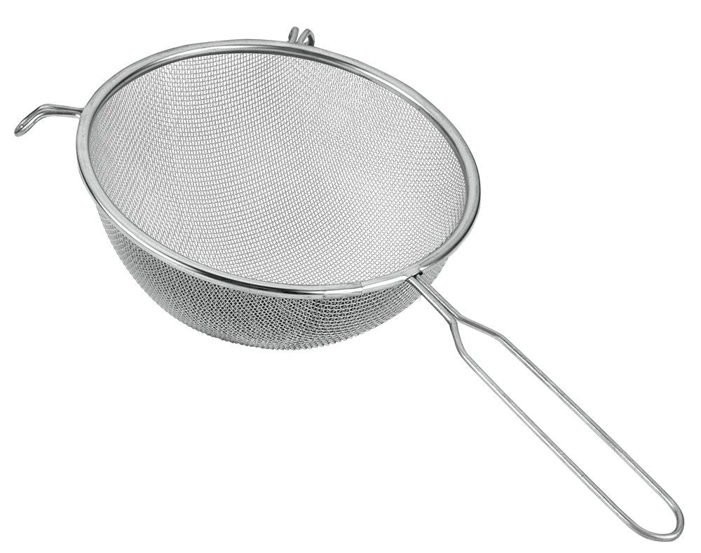 Сито Metaltex, диаметр 20 см11.06.20Сито, выполненное из высококачественной стали и алюминиевого сплава, станет незаменимым аксессуаром на Вашей кухне. Оно предназначено для просеивания и процеживания. Конструкция ручки представляет собой петлю, с помощью которой сито можно подвесить в удобном для Вас месте.Такое сито станет достойным дополнением к кухонному инвентарю.Характеристики:Материал: сталь, алюминиевый сплав. Диаметр: 20 см. Длина ручки: 17 см.Изготовитель: Италия. Артикул: 11.06.20.