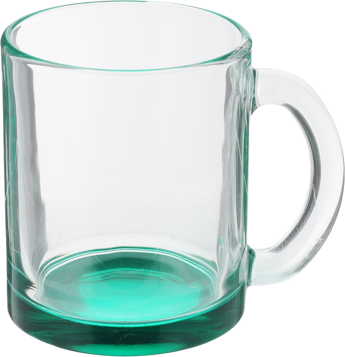 Кружка OSZ Чайная, цвет: прозрачный, бирюзовый, 320 мл04C1208LM_прозрачный, бирюзовыйКружка OSZ Чайная изготовлена из стекла двух цветов. Изделие идеально подходит для сервировки стола.Кружка не только украсит ваш кухонный стол, но и подчеркнет прекрасный вкус хозяйки. Диаметр кружки (по верхнему краю): 8 см. Высота кружки: 9,5 см. Объем кружки: 320 мл.