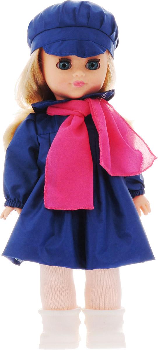Весна Кукла озвученная Наталья цвет одежды синий розовый