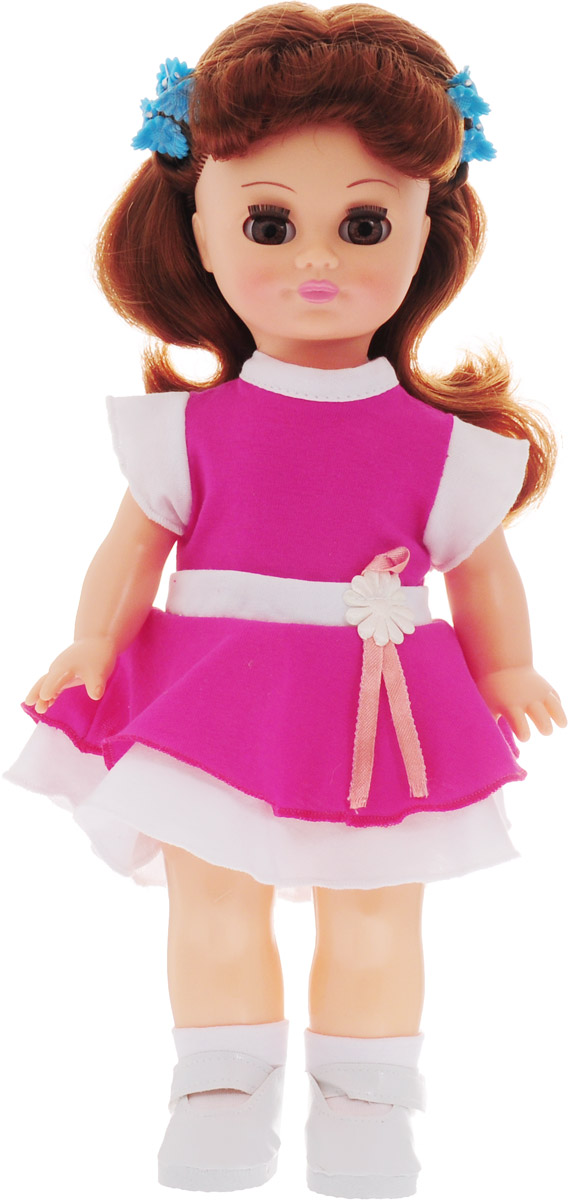 Весна Кукла озвученная Олеся цвет платья розовый весна кукла озвученная оля цвет одежды белый розовый голубой