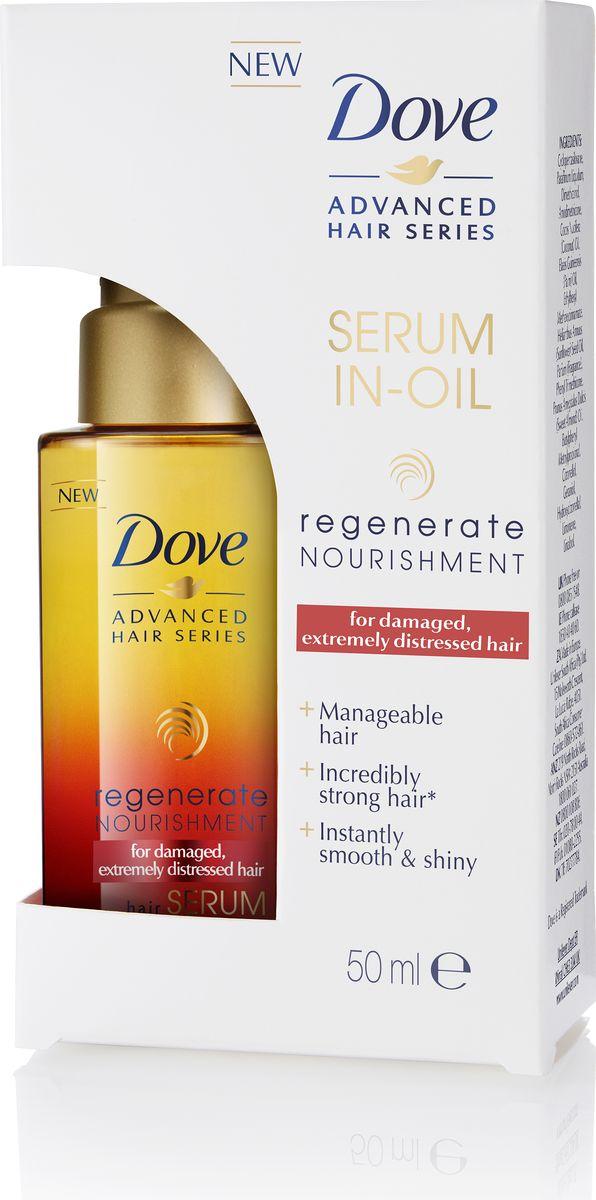 Dove Advanced Hair Series сыворотка-масло Прогрессивное восстановление, 50 мл67117625Появление бренда Dove связано с созданием уникального очищающего средства для кожи, не содержащего щелочи. Формула единственного в своем роде крем-мыла на четверть состоит из увлажняющего крема - именно это его качество помогает защищать кожу от раздражения и сухости, которые неизбежны при использовании обычного мыла.Dove —марка, которая известна благодаря авангардному изобретению: мягкому крем-мылу. Dove любим миллионами, ведь они не содержат щелочи, оказывают мягкое, щадящее воздействие на кожу лица и тела.Удивительное по своим свойствам крем-мыло довольно быстро стало одним из самых популярных косметических средств. Успех этого продукта был настолько велик, что производители долгое время не занимались расширением ассортимента. Прошло почти сорок лет с момента регистрации товарного знака Dove, прежде чем свет увидел крем-гель для душа и другие косметические средства этой марки. Все они создаются на основе формулы, разработанной еще в прошлом веке, но не потерявшей своей актуальности.На сегодняшний день этот бренд по праву считается олицетворением красоты, здоровья и женственности. Помимо женской линии косметики выпускаются детские косметические средства и косметика для мужчин. Несмотря на широкий ассортимент предлагаемых средств по уходу за кожей и волосами, завоевавших признание в более чем 80 странах по всему миру, производители находятся в постоянном поиске новых формул.Dove считается одним из ведущих в своей области. Он известен миллионам людей в почти сотне стран по всему миру. В мире Dove красота — это источник уверенности в себе, а не беспокойства. Миссия бренда — дать новому поколению возможность расти в атмосфере позитивного отношения к собственной внешности. Бальзам-маска для волос Dove \Контроль над потерей волос\ глубоко питает и восстанавливает волосы, подобно маске, действует за 1 минуту, как обычный бальзам. Компоненты технологии Fiber Active проникают глубоко в стр