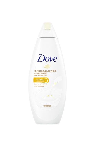 Dove крем-гель для душа Драгоценные масла, 250 мл67082815Сухая кожа нуждается в особом уходе. Новый крем-гель для душа Dove с драгоценным маслом арганы и нашими самыми бережными очищающими компонентами питает Вашу кожу, надежно защищая от сухости. Dove делает Вашу кожу гладкой и нежной сразу после душа благодаря уникальному сочетанию ухаживающих компонентов NutriumMoisture, которые обеспечивают больше естественного питания для Вашей кожи, чем большинство гелей для душа.