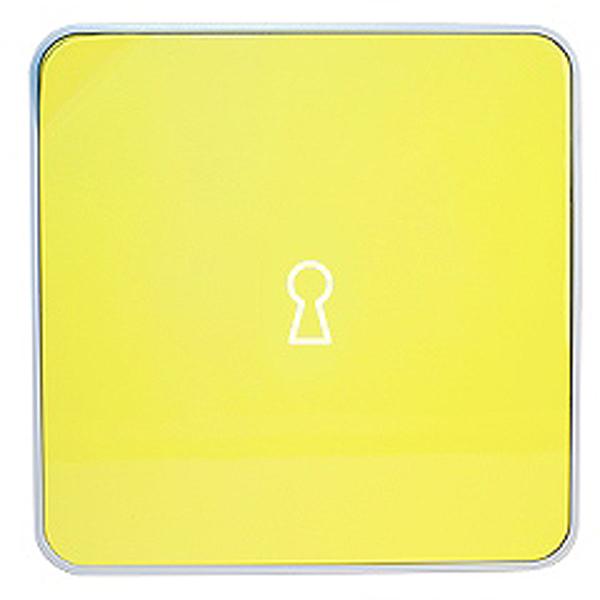 Ключница настенная Byline, цвет: желтый. 108.3251.56