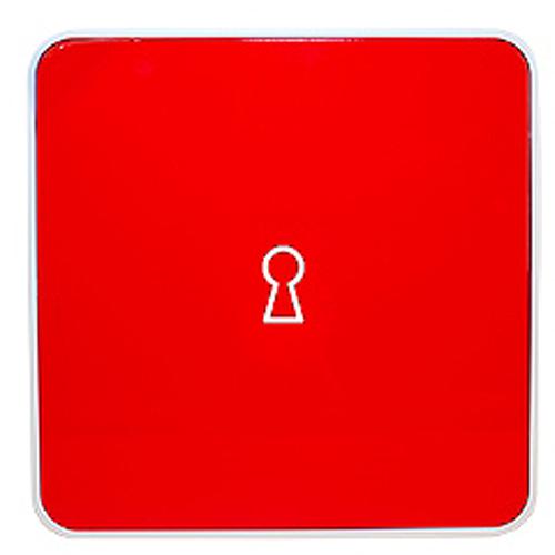 Ключница настенная Byline, цвет: красный. 108.3251.55