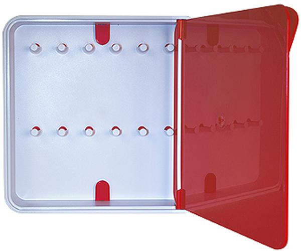 Ключница настенная Byline, цвет: красный. 108.3201.05108.3201.05Настенная ключница Byline создана как удобный органайзер для хранения и контроля за комплектами ключей. Больше не надо думать, куда положить ключи от квартиры или дома, машины, почтового ящика, кладовки.