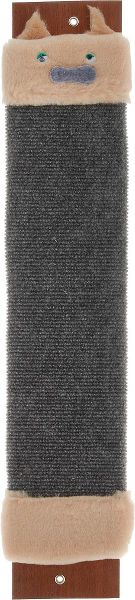 Когтеточка Adel-Pet Мордашка, с пропиткой, ковровая, длина 59 см pet parade кошки купить