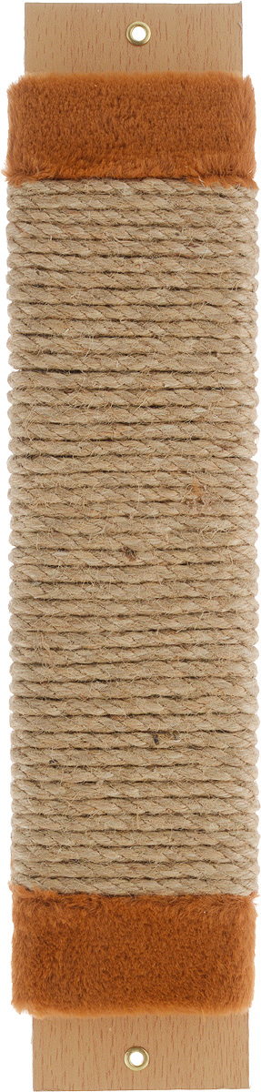 Когтеточка Adel-Pet Для котят, с пропиткой, веревочная, длина 44 см990083Когтеточка Adel-Pet Для котят поможет сохранить мебель и ковры в доме от когтей вашего любимца, стремящегося удовлетворить свою естественную потребность точить когти. Когтеточка изготовлена из ДСП, синтетики и сизаля. На когтеточке имеются 2 отверстия для крепления к стене. Товар продуман в мельчайших деталях и, несомненно, понравится вашей кошке. Всем кошкам необходимо стачивать когти. Когтеточка - один из самых необходимых аксессуаров для кошки. Для легкого приучения питомца изделиеобработано привлекающей пропиткой.