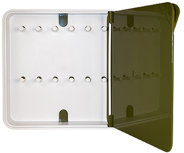 Ключница настенная Byline, цвет: бежевый. 108.3201.03108.3201.03Настенная ключница Byline создана как удобный органайзер для хранения и контроля за комплектами ключей. Больше не надо думать, куда положить ключи от квартиры или дома, машины, почтового ящика, кладовки.