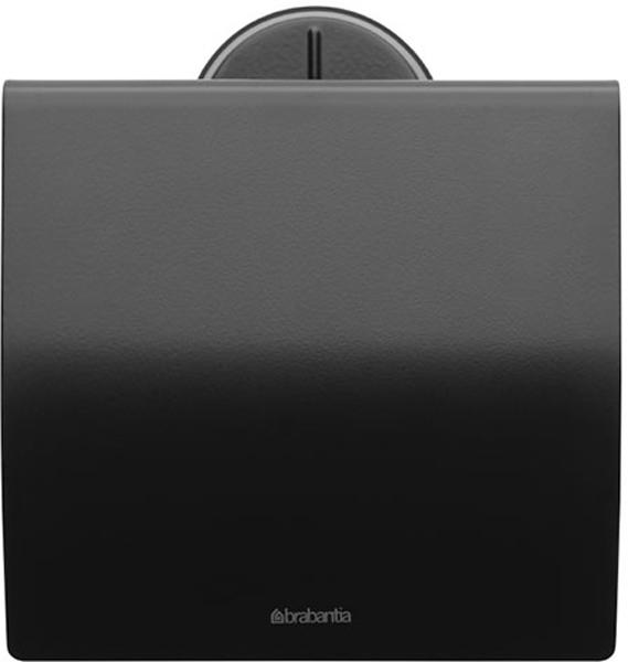 Держатель для туалетной бумаги Brabantia Profile, цвет: черный. 483400 держатели для туалетной бумаги brabantia держатель для туалетной бумаги черный