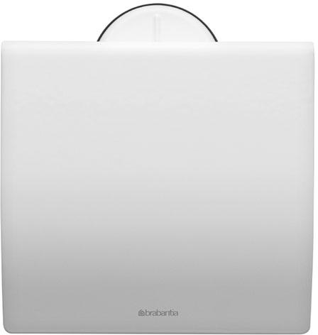 Держатель для туалетной бумаги Brabantia. 483387483387Держатель для туалетной бумаги изготовлен из высококачественной листовой стали со стойким антикоррозийным покрытием или хромированной стали, поэтому он идеально подходит для использования в ванной и туалете.Держатель просто монтировать и легко менять рулон.Фурнитура для монтажа входит в комплект.Пластина крепления - пластиковая.Легко сменить рулон. Рулон можно вставить справа или слева.Сочетается с другими аксессуарами Brabantia для ванной комнаты такого же цвета: с туалетным ершиком, баком для белья, настенным мусорным ведром и мусорным ведром с ножной педалью. Гарантия 10 лет.