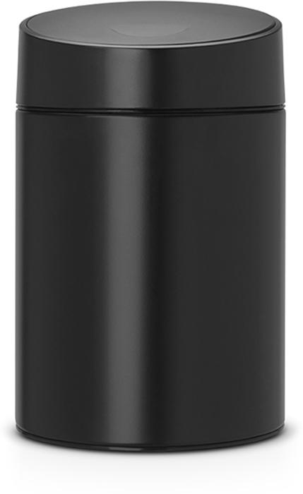 Бак мусорный Brabantia Slide Bin, цвет: черный, 5 л. 483189483189Легко открывается движением одной руки, закрывается бесшумно и автоматически - уникальная система открывания / закрывания. Без соприкосновения с содержимым бака - крышка плавно поднимается и опускается. Настенное или напольное использование - в комплекте простой в установке опорный кронштейн. Бак снимается с настенного кронштейна для тщательной очистки стены. Удобная очистка - съемное пластиковое ведро. Предохранение пола от повреждений - пластиковый защитный обод. Всегда опрятный вид - идеально подходящие по размеру мешки PerfectFit (размер B).
