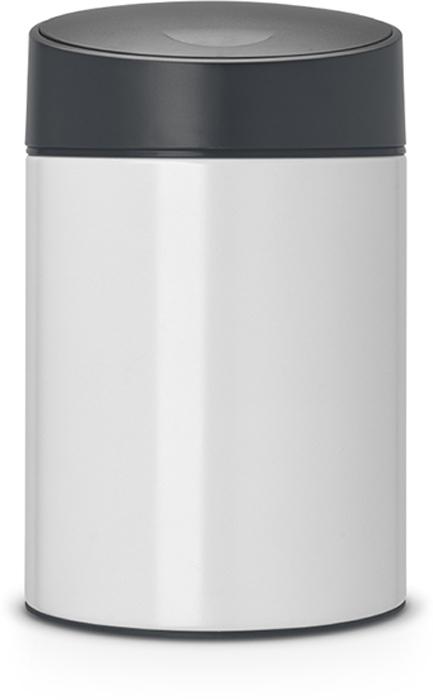 Бак мусорный Brabantia Slide Bin, цвет: белый, серый (FPP), 5 л. 483165483165Легко открывается движением одной руки, закрывается бесшумно и автоматически - уникальная система открывания / закрывания. Без соприкосновения с содержимым бака - крышка плавно поднимается и опускается. Настенное или напольное использование - в комплекте простой в установке опорный кронштейн. Бак снимается с настенного кронштейна для тщательной очистки стены. Удобная очистка - съемное пластиковое ведро. Предохранение пола от повреждений - пластиковый защитный обод. Всегда опрятный вид - идеально подходящие по размеру мешки PerfectFit (размер B).