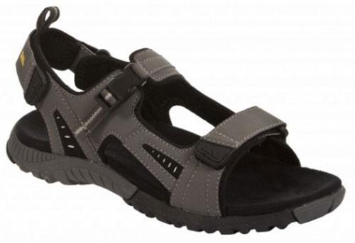 Сандалии мужские Trespass Peake, цвет: серый. MAFOBEL10004. Размер 43MAFOBEL10004Трекинговые мужские сандалии, выполненные из плотного текстиля, отлично подойдут для занятия туризмом. Ремешки с застежками-липучками надежно зафиксируют модель на ноге. Основание подошвы дополнено рифлением.