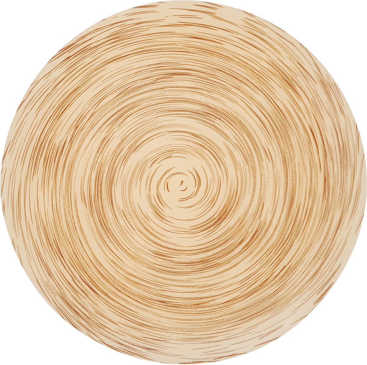 Тарелка обеденная Luminarc Stonemania Cappuccino, диаметр 25 смJ1759Обеденная тарелка Luminarc Stonemania Cappuccino, изготовленная из высококачественного стекла, имеет изысканный внешний вид. Такая тарелка прекрасно подходит как для торжественных случаев, так и для повседневного использования. Идеальна для подачи десертов, пирожных, тортов и многого другого. Она прекрасно оформит стол и станет отличным дополнением к вашей коллекции кухонной посуды.Можно мыть в посудомоечной машине.