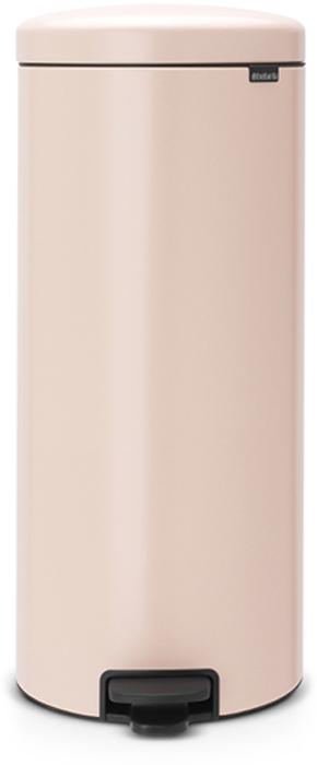 Бак мусорный Brabantia NewIcon, с педалью, цвет: чайная роза, 30 л. 114328114328Этот высокий вместительный бак на 30 литров с педалью - превосходное решение для большой семьи.Бесшумный - плавное закрывание крышки и необыкновенно мягкий ход педали.Не пропускает запах - плотно прилегающая крышка.Устойчивый - специальное устройство, предотвращающее опрокидывание бака.Не повреждает пол - нескользящее основание.Удобная очистка - съемное внутреннее пластиковое ведро.Бак удобно перемещать - специальная ручка в блоке крепления крышки.Всегда опрятный вид - в комплекте идеально подходящие по размеру мешки для мусора PerfectFit (размер G).Изготовлен на 40% из переработанных материалов, подлежит вторичной переработке вместе с упаковкой на 98%.Сертификат соответствия концепции регенерации Cradle to Cradle.