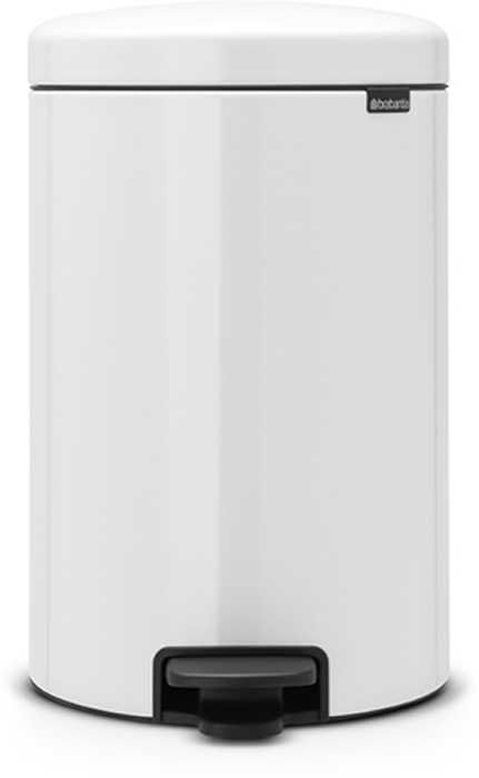Бак мусорный Brabantia NewIcon, с педалью, с внутренним металлическим ведром, цвет: белый, 20 л. 114243114243Этот 20-литровый бак с педалью – отличное решение для кухни или гостиной: большое загрузочное отверстие позволяет аккуратно собирать мусор, не просыпая на пол. Бесшумный - плавное закрывание крышки и необыкновенно мягкий ход педали.Не пропускает запах - плотно прилегающая крышка.Устойчивый - специальное устройство, предотвращающее опрокидывание бака.Не повреждает пол - нескользящее основание.Удобная очистка - съемное внутреннее металлическое ведро.Бак удобно перемещать - специальная ручка в блоке крепления крышки.Всегда опрятный вид - в комплекте идеально подходящие по размеру мешки для мусора PerfectFit (размер D).Изготовлен на 40% из переработанных материалов, подлежит вторичной переработке вместе с упаковкой на 98%.Сертификат соответствия концепции регенерации Cradle to Cradle.