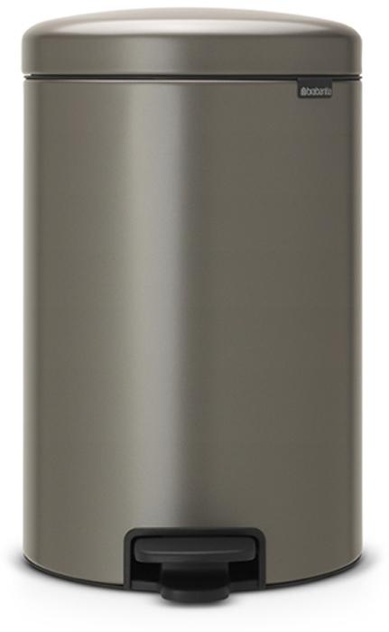 Бак мусорный Brabantia NewIcon, с педалью, цвет: платиновый, 20 л. 114045116-02-1407/4072Этот 20-литровый бак с педалью – отличное решение для кухни или гостиной: большое загрузочное отверстие позволяет аккуратно собирать мусор, не просыпая на пол.Бесшумный - плавное закрывание крышки и необыкновенно мягкий ход педали.Не пропускает запах - плотно прилегающая крышка.Устойчивый - специальное устройство, предотвращающее опрокидывание бака.Не повреждает пол - нескользящее основание.Удобная очистка - съемное внутреннее пластиковое ведро.Бак удобно перемещать - специальная ручка в блоке крепления крышки.Всегда опрятный вид - в комплекте идеально подходящие по размеру мешки для мусора PerfectFit (размер D).Изготовлен на 40% из переработанных материалов, подлежит вторичной переработке вместе с упаковкой на 98%.Сертификат соответствия концепции регенерации Cradle to Cradle.
