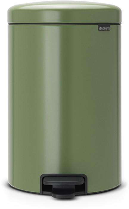 Бак мусорный Brabantia NewIcon, с педалью, цвет: зеленый мох, 20 л. 113925113925Этот 20-литровый бак с педалью – отличное решение для кухни или гостиной: большое загрузочное отверстие позволяет аккуратно собирать мусор, не просыпая на пол. Бесшумный - плавное закрывание крышки и необыкновенно мягкий ход педали. Не пропускает запах - плотно прилегающая крышка. Устойчивый - специальное устройство, предотвращающее опрокидывание бака. Не повреждает пол - нескользящее основание. Удобная очистка - съемное внутреннее пластиковое ведро. Бак удобно перемещать - специальная ручка в блоке крепления крышки. Всегда опрятный вид - в комплекте идеально подходящие по размеру мешки для мусора PerfectFit (размер D). Изготовлен на 40% из переработанных материалов, подлежит вторичной переработке вместе с упаковкой на 98%. Сертификат соответствия концепции регенерации Cradle to Cradle.