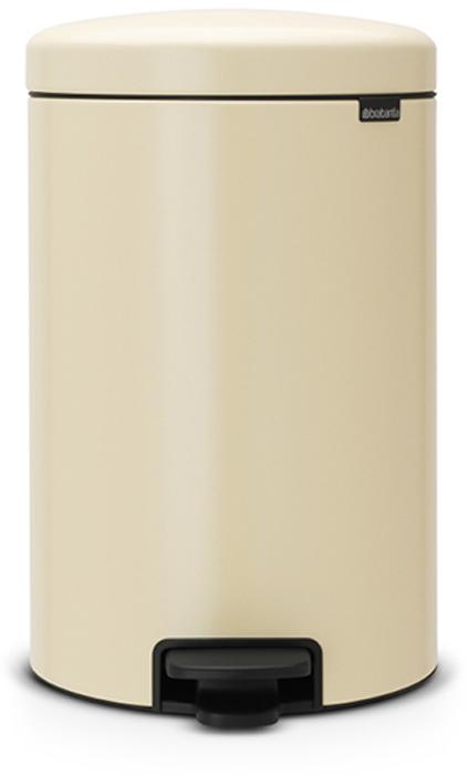 Бак мусорный Brabantia NewIcon, с педалью, цвет: миндальный, 20 л. 113901GL-561Этот 20-литровый бак с педалью – отличное решение для кухни или гостиной: большое загрузочное отверстие позволяет аккуратно собирать мусор, не просыпая на пол.Бесшумный - плавное закрывание крышки и необыкновенно мягкий ход педали.Не пропускает запах - плотно прилегающая крышка.Устойчивый - специальное устройство, предотвращающее опрокидывание бака.Не повреждает пол - нескользящее основание.Удобная очистка - съемное внутреннее пластиковое ведро.Бак удобно перемещать - специальная ручка в блоке крепления крышки.Всегда опрятный вид - в комплекте идеально подходящие по размеру мешки для мусора PerfectFit (размер D).Изготовлен на 40% из переработанных материалов, подлежит вторичной переработке вместе с упаковкой на 98%.Сертификат соответствия концепции регенерации Cradle to Cradle.