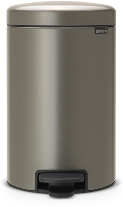 Бак мусорный Brabantia NewIcon, с педалью, цвет: платиновый, 12 л. 113628113628Этот 12-литровый бак с педалью достаточно вместителен и при этом достаточно компактен для размещения под рабочим столом – отличное решение для кухни или гостиной.Бесшумный - плавное закрывание крышки и необыкновенно мягкий ход педали. Не пропускает запах - плотно прилегающая крышка. Устойчивый - специальное устройство, предотвращающее опрокидывание бака. Не повреждает пол - нескользящее основание. Удобная очистка - съемное внутреннее пластиковое ведро. Бак удобно перемещать - специальная ручка в блоке крепления крышки. Всегда опрятный вид - в комплекте идеально подходящие по размеру мешки для мусора PerfectFit (размер C). Изготовлен на 40% из переработанных материалов, подлежит вторичной переработке вместе с упаковкой на 98%. Сертификат соответствия концепции регенерации Cradle to Cradle.