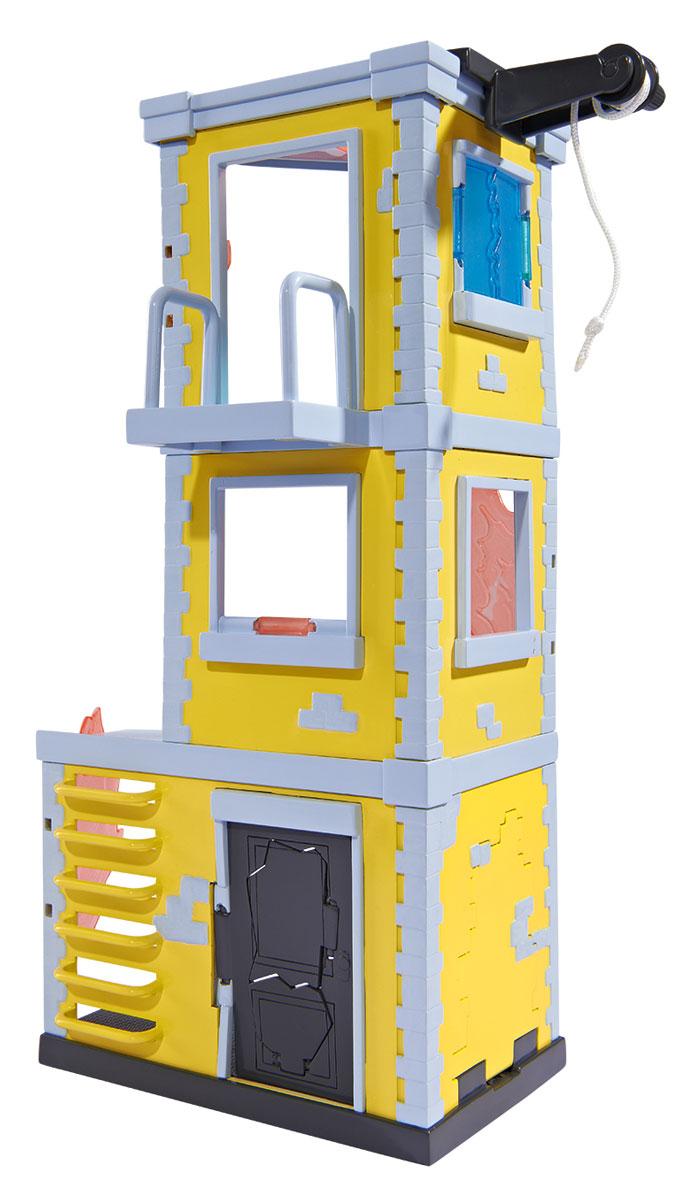 Dickie Toys Игровой набор Fire Rescue Tower мусоровоз со светом и звуком 30см dickie toys