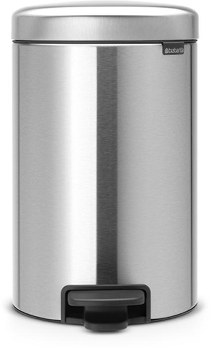 Бак мусорный Brabantia NewIcon, с педалью, цвет: матовый, 12 л. 113604113604Этот 12-литровый бак с педалью достаточно вместителен и при этом достаточно компактен для размещения под рабочим столом – отличное решение для кухни или гостиной.Бесшумный - плавное закрывание крышки и необыкновенно мягкий ход педали. Не пропускает запах - плотно прилегающая крышка. Устойчивый - специальное устройство, предотвращающее опрокидывание бака. Не повреждает пол - нескользящее основание. Удобная очистка - съемное внутреннее пластиковое ведро. Бак удобно перемещать - специальная ручка в блоке крепления крышки. Всегда опрятный вид - в комплекте идеально подходящие по размеру мешки для мусора PerfectFit (размер C). Изготовлен на 40% из переработанных материалов, подлежит вторичной переработке вместе с упаковкой на 98%. Сертификат соответствия концепции регенерации Cradle to Cradle.