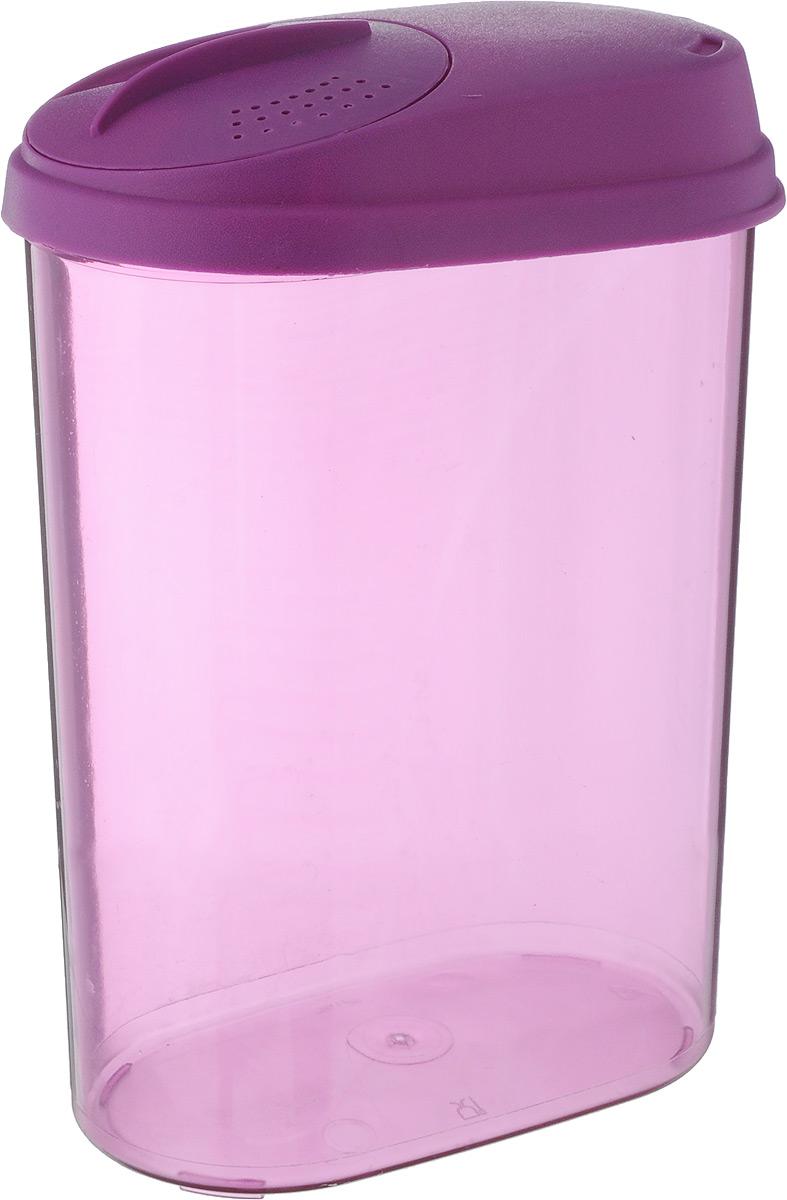 Банка для сыпучих продуктов Giaretti, с дозатором, цвет: фиолетовый, 1,6 лGR3611МИКС_фиолетовыйБанка Giaretti, выполненная из высококачественного пластика,предназначена для хранения круп, сахара, макаронных изделийи других сыпучих продуктов. Плотно прилегающая крышка непропускает запахи содержимого в шкаф для хранения, при этомпродукт не теряет своего аромата. Двойной дозаторпредназначен для мелких и крупных сыпучих продуктов. Можно мыть в посудомоечной машине.Объем: 1,6 л. Размер (по верхнему краю): 14,5 x 8,5 см. Высота (с учетом крышки): 20,5 см.