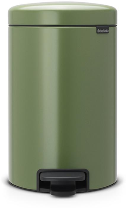 Бак мусорный Brabantia NewIcon, с педалью, цвет: зеленый мох, 12 л. 113529113529Этот 12-литровый бак с педалью достаточно вместителен и при этом достаточно компактен для размещения под рабочим столом – отличное решение для кухни или гостиной. Бесшумный – плавное закрывание крышки и необыкновенно мягкий ход педали.Не пропускает запах – плотно прилегающая крышка.Устойчивый – специальное устройство, предотвращающее опрокидывание бака.Не повреждает пол – нескользящее основание.Удобная очистка –съемное внутреннее пластиковое ведро.Бак удобно перемещать – специальная ручка в блоке крепления крышки.Всегда опрятный вид – в комплекте идеально подходящие по размеру мешки для мусора PerfectFit (размер C). Сертификат соответствия концепции регенерации Cradle to Cradle.Изготовлен на 40% из переработанных материалов, подлежит вторичной переработке вместе с упаковкойна 98%. 10 лет гарантии.Brabantia c заботой о вашем доме и планете. Добрые дела сегодня – залог счастливого завтра. Мусорные баки с педалью newIcon не только безупречно красивы, они еще и надежные работники! Покупая этот бак, вы вносите вклад в крупнейший проект по очистке мирового океана от пластикового мусора, реализуемый организацией Ocean Cleanup. При продаже каждого бака Brabantia осуществляет благотворительный вклад в проект. Разве это не здорово?