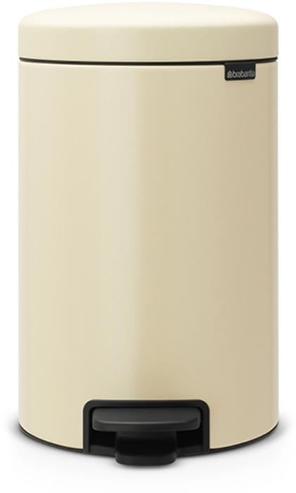Бак мусорный Brabantia NewIcon, с педалью, цвет: миндальный, 12 л. 113468113468Этот 12-литровый бак с педалью достаточно вместителен и при этом достаточно компактен для размещения под рабочим столом – отличное решение для кухни или гостиной.Бесшумный - плавное закрывание крышки и необыкновенно мягкий ход педали. Не пропускает запах - плотно прилегающая крышка. Устойчивый - специальное устройство, предотвращающее опрокидывание бака. Не повреждает пол - нескользящее основание. Удобная очистка - съемное внутреннее пластиковое ведро. Бак удобно перемещать - специальная ручка в блоке крепления крышки. Всегда опрятный вид - в комплекте идеально подходящие по размеру мешки для мусора PerfectFit (размер C). Изготовлен на 40% из переработанных материалов, подлежит вторичной переработке вместе с упаковкой на 98%. Сертификат соответствия концепции регенерации Cradle to Cradle.