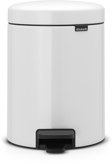 Бак мусорный Brabantia NewIcon, с педалью, цвет: белый, 5 л. 113406113406Этот 5-литровый бак с педалью идеально подходит для ванной, туалета или детской комнаты.Бесшумный - плавное закрывание крышки и необыкновенно мягкий ход педали. Не пропускает запах - плотно прилегающая крышка. Устойчивый - специальное устройство, предотвращающее опрокидывание бака. Не повреждает пол - нескользящее основание. Удобная очистка - съемное внутреннее металлическое ведро. Всегда опрятный вид - в комплекте идеально подходящие по размеру мешки для мусора PerfectFit (размер В). Изготовлен на 40% из переработанных материалов, подлежит вторичной переработке вместе с упаковкой на 98%. Сертификат соответствия концепции регенерации Cradle to Cradle.