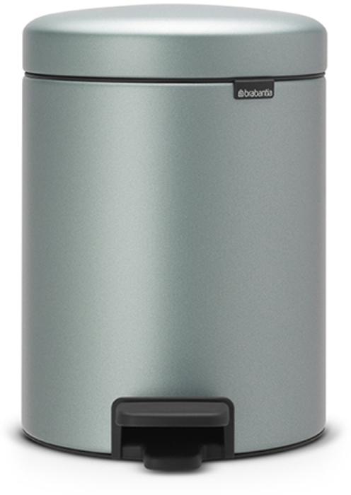 Бак мусорный Brabantia NewIcon, с педалью, цвет: мятный металлик, 5 л. 112942112942Этот 5-литровый бак с педалью идеально подходит для ванной, туалета или детской комнаты.Бесшумный - плавное закрывание крышки и необыкновенно мягкий ход педали.Не пропускает запах - плотно прилегающая крышка.Устойчивый - специальное устройство, предотвращающее опрокидывание бака.Не повреждает пол - нескользящее основание.Удобная очистка - съемное внутреннее пластиковое ведро.Всегда опрятный вид - в комплекте идеально подходящие по размеру мешки для мусора PerfectFit (размер В).Изготовлен на 40% из переработанных материалов, подлежит вторичной переработке вместе с упаковкой на 98%.Сертификат соответствия концепции регенерации Cradle to Cradle.