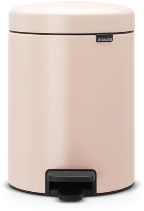 Бак мусорный Brabantia NewIcon, с педалью, цвет: чайная роза, 5 л. 112508116-02-4543/4546Этот 5-литровый бак с педалью идеально подходит для ванной, туалета или детской комнаты.Бесшумный - плавное закрывание крышки и необыкновенно мягкий ход педали.Не пропускает запах - плотно прилегающая крышка.Устойчивый - специальное устройство, предотвращающее опрокидывание бака.Не повреждает пол - нескользящее основание.Удобная очистка - съемное внутреннее пластиковое ведро.Всегда опрятный вид - в комплекте идеально подходящие по размеру мешки для мусора PerfectFit (размер В).Изготовлен на 40% из переработанных материалов, подлежит вторичной переработке вместе с упаковкой на 98%.Сертификат соответствия концепции регенерации Cradle to Cradle.