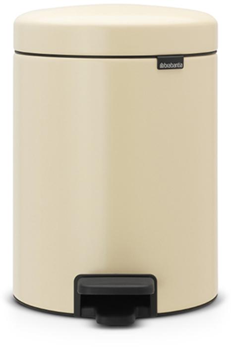 Бак мусорный Brabantia NewIcon, с педалью, цвет: миндальный, 5 л. 112423112423Этот 5-литровый бак с педалью идеально подходит для ванной, туалета или детской комнаты. Бесшумный - плавное закрывание крышки и необыкновенно мягкий ход педали.Не пропускает запах - плотно прилегающая крышка.Устойчивый - специальное устройство, предотвращающее опрокидывание бака.Не повреждает пол - нескользящее основание.Удобная очистка - съемное внутреннее пластиковое ведро.Всегда опрятный вид - в комплекте идеально подходящие по размеру мешки для мусора PerfectFit (размер В).Изготовлен на 40% из переработанных материалов, подлежит вторичной переработке вместе с упаковкой на 98%.Сертификат соответствия концепции регенерации Cradle to Cradle.