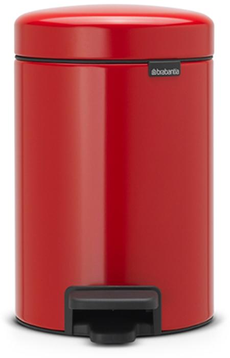 Бак мусорный Brabantia NewIcon, с педалью, цвет: красный, 3 л. 112140112140Бесшумный – плавное закрывание крышки и необыкновенно мягкий ход педали. Не пропускает запах – плотно прилегающая крышка. Устойчивый – специальное устройство, предотвращающее опрокидывание бака. Не повреждает пол – нескользящее основание. Удобная очистка – съемное внутреннее пластиковое ведро. Всегда опрятный вид – в комплекте идеально подходящие по размеру мешки для мусора PerfectFit (размер A). Изготовлен на 40% из переработанных материалов, подлежит вторичной переработке вместе с упаковкой на 98%. Сертификат соответствия концепции регенерации «Cradle to Cradle».