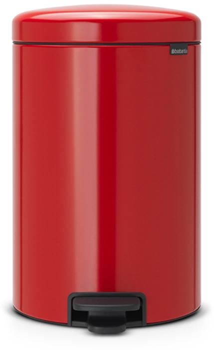 Бак мусорный Brabantia NewIcon, с педалью, цвет: красный, 20 л. 111860111860Этот 20-литровый бак с педалью – отличное решение для кухни или гостиной: большое загрузочное отверстие позволяет аккуратно собирать мусор, не просыпая на пол. Бесшумный - плавное закрывание крышки и необыкновенно мягкий ход педали. Не пропускает запах - плотно прилегающая крышка. Устойчивый - специальное устройство, предотвращающее опрокидывание бака. Не повреждает пол - нескользящее основание. Удобная очистка - съемное внутреннее пластиковое ведро. Бак удобно перемещать - специальная ручка в блоке крепления крышки. Всегда опрятный вид - в комплекте идеально подходящие по размеру мешки для мусора PerfectFit (размер D). Изготовлен на 40% из переработанных материалов, подлежит вторичной переработке вместе с упаковкой на 98%. Сертификат соответствия концепции регенерации Cradle to Cradle.