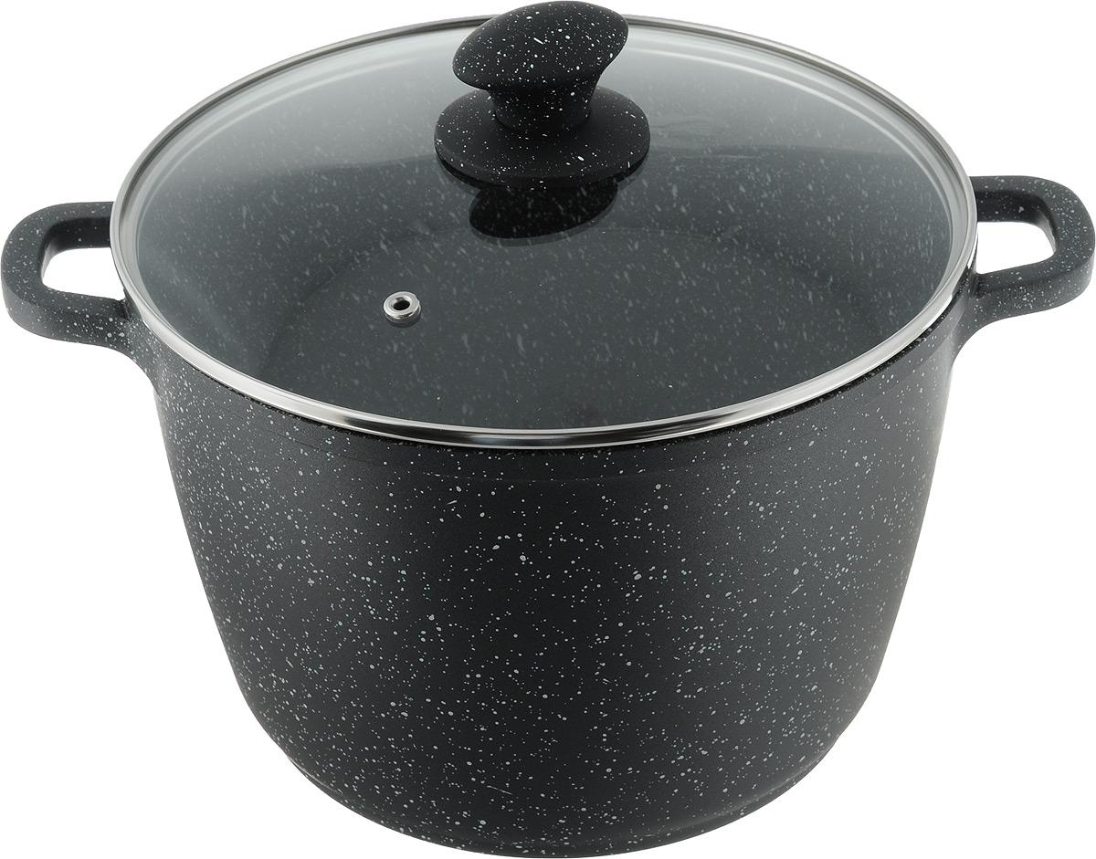 Кастрюля Supra Katai с крышкой, с антипригарным покрытием, 6,2 лSAD-K24SP marbleКастрюля Supra Katai выполнена из литого алюминия с выкотехнологичным покрытием стенок и дна с эффектом мрамора. Такое покрытие устойчиво к пригоранию, механическим повреждениям и высоким температурам. Внутренние трехслойное покрытие XYLAN PIUS не оставляет послевкусия, а также устойчиво к износу и использованию металлических приборов.Изделие оснащено крышкой из термостойкого стекла со специальным отверстием для выпуска пара. На крышке имеется ручка, выполненная из жаропрочного бакелита.Кастрюля подходит для всех типов плит, включая индукционные. Запрещено использование на галогеновых конфорках.Можно мыть в посудомоечной машине. Посуда Supra - яркое воплощение традиционного японского качества, из экологически чистых материалов с использованием современных технологий, отличается высокой прочностью и долговечностью. Каждое изделие проходит строгий контроль качества на нескольких этапах производства. Посуда Supra безвредна для здоровья. Ширина кастрюли (с учетом ручек): 32,2 см. Высота стенки: 16,5 см. Толщина стенки: 2 мм. Толщина дна: 4,5 мм.