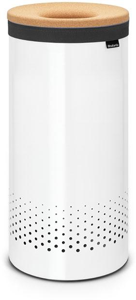 Бак для белья Brabantia, цвет: белый, 35 л. 104367104367Стильный дизайн и аккуратное хранение – через крышку не видно содержимое. Удобно закладывать и доставать белье – крышка крепится на верхний обод бака.Небольшие вещи можно закладывать, не открывая крышку – загрузочное отверстие Quick-Drop.Удобная переноска белья – съемный легко стираемый хлопковый мешок для белья. Мешок для белья удобно крепится на липучке, вкладывается и достается из бака.Вентиляционные отверстия позволяют белью «дышать».Нижний пластиковый защитный обод предохраняет пол от повреждений.Бак изготовлен из коррозионностойких материалов и идеально подходит для использования в ванной комнате.
