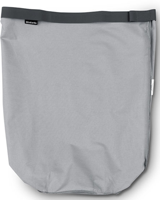 Мешок для бака для белья Brabantia, цвет: серый, 60 л. 102363102363Сменный мешок подойдет для бака для белья Brabantia объемом 50-60 л. Изготовлен из прочной ткани (100% хлопок) и легко стирается. Легко устанавливается и не соскальзывает в бак – эластичные прорезиненные края и липучка.
