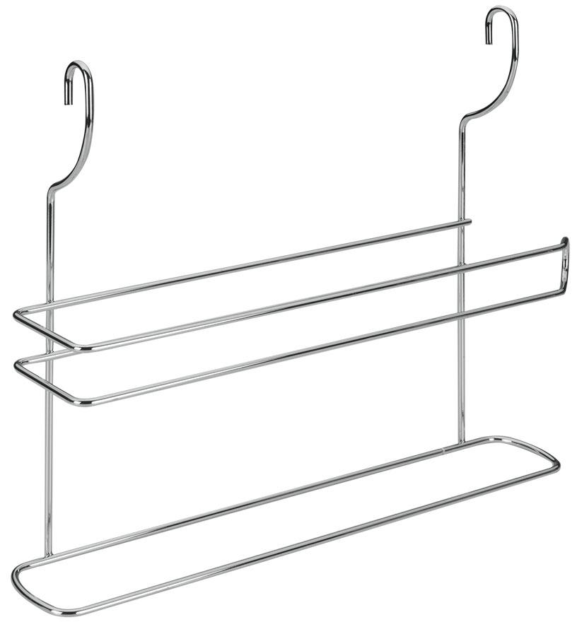 Держатель для полотенец Lonardo, навесной35.03.17Настенный держатель для полотенец Lonardoвыполнен из нержавеющей стали. На держатель можно повесить полотенце ирулон с бумажными полотенцами. Держатель крепится к стене на 2 петли.Такой держатель отлично подойдет к интерьеру вашей кухни.Размер: 35 см х 8 см х 30 см.