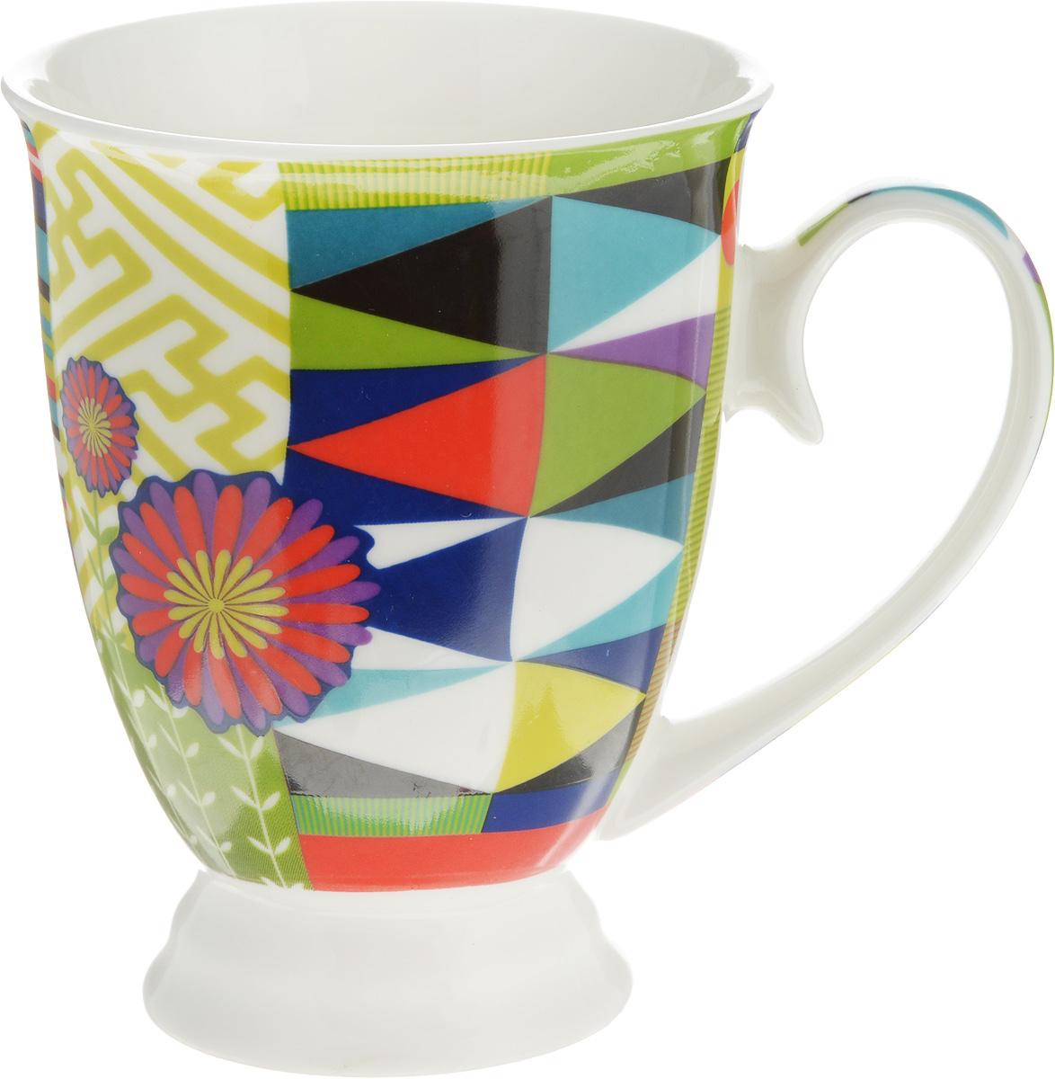 Кружка Lillo Цветочно-ягодный микс, цвет: бирюзовый, зеленый, красный, 250 мл12486_бирюзовый, зеленый, красныйКружка Lillo Цветочно-ягодный микс выполнена из высококачественной керамики с глазурованным покрытием. С внешней стороны изделие декорировано красочным рисунком. Такая кружка станет приятным подарком и согреет вас холодными вечерами. Диаметр (по верхнему краю): 8 см.Высота кружки: 10,5 см.