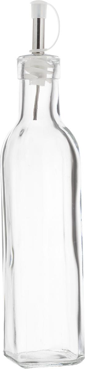 """Емкость для масла или уксуса """"Zeller"""", выполненная из стекла, позволит украсить любую кухню. Она внесет разнообразие как в строгий классический стиль, так и в современный кухонный интерьер. Легка в использовании, стоит только перевернуть, и вы с легкостью сможете добавить оливковое масло или уксус.  Оригинальная емкость будет отлично смотреться на вашей кухне.Диаметр отверстия по верхнему краю: 2,8 см.  Высота емкости (с учетом крышки): 25,3 см."""