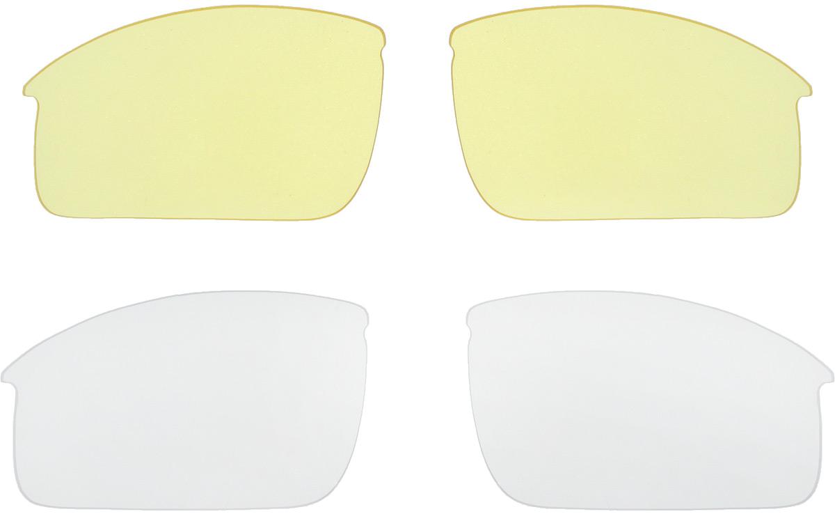 """Солнцезащитные велоочки BBB """"Impress Small PC Smoke Red Lenses"""" предназначены для людей с меньшим размером головы. Форма линз обеспечивает 100% защиту от солнца, пыли, ветра и ультрафиолета. Очки имеют поликарбонатную оправу с регулируемой переносицей. В комплект входят мешочек для хранения и дополнительные линзы: желтая и прозрачная."""